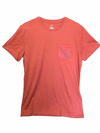 Millet Mens Kalymnos T Shirt Short Sleeve Rust