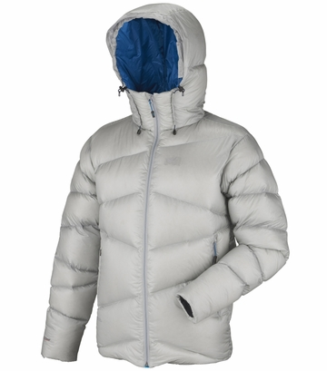 Millet Mens Kamet Down Jacket Silver