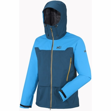 Millet Mens Kamet GTX Jacket Majolica Blue/ Electric Blue