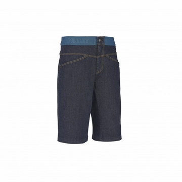 Millet Mens Karambony Denim Long Short Dark Denim