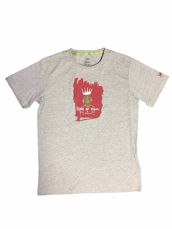 Millet Mens King of Rocks T Shirt Heather Grey