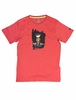 Millet Mens King of Rocks T Shirt Short Sleeve Pompeian Red