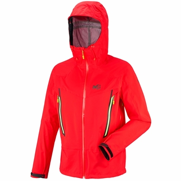 Millet Mens Les Drus Dry Edge 3L Jacket Red