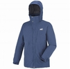 Millet Mens Lofoten Down Blend Parka Estate Blue/ Heather Grey