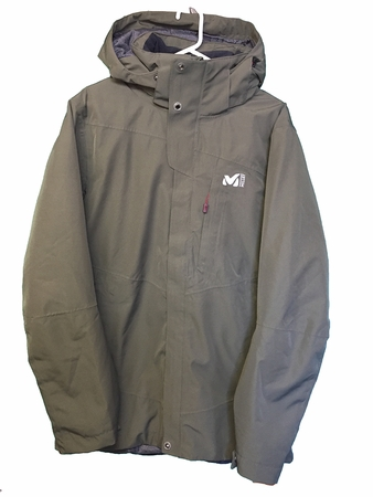 Millet Mens Lofoten Down Blend Parka Grape Leaf