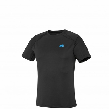 Millet Mens LTK Intense T Shirt Short Sleeve Black/ Noir
