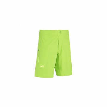 Millet Mens LTK Rush Long Short Acid Green