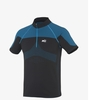 Millet Mens LTK Seamless Zip SS Noir/ Electric Blue