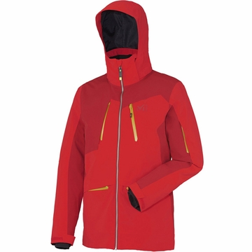 Millet Mens Magic Stretch Jacket Rouge/ Deep Red