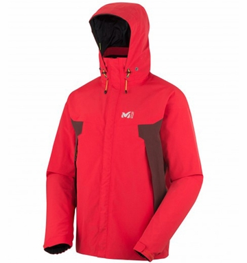Millet Mens Montet GTX Jacket Rouge/ Wine