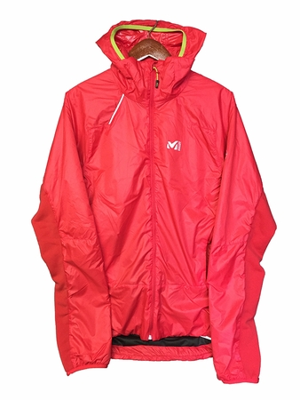 Millet Mens Pierrament Alpha Hoodie Red/ Rouge