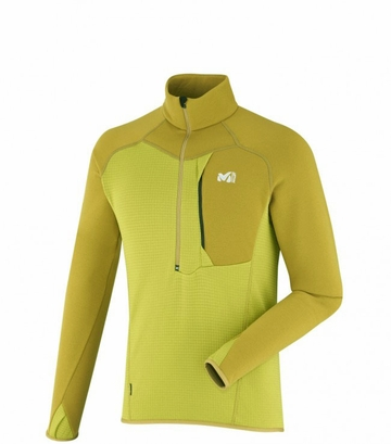 Millet Mens Roc Power Zip Warm Olive/ Tobacco