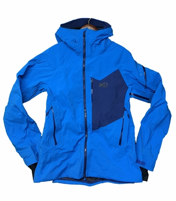 Millet Mens Smithers Stretch Jacket 3L Electric Blue/ Estate Blue
