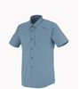 Millet Mens Sorona Short Sleeve Shirt Majolica Blue