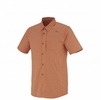 Millet Mens Sorona Short Sleeve Shirt Rust