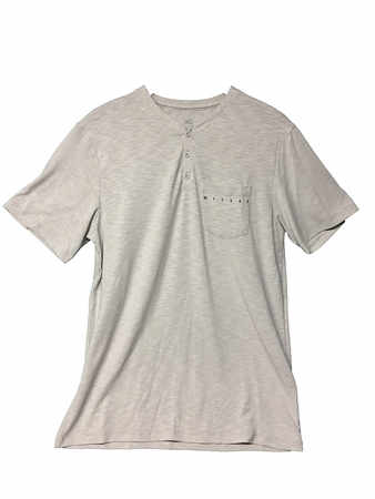 Millet Mens Stone T Shirt Short Sleeve Stone/ Silver