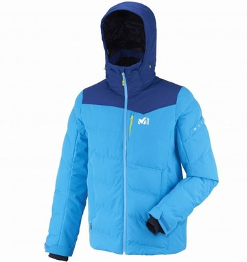 Millet Mens Sun Peaks Hybrid Jacket Electric Blue/ Heather Est