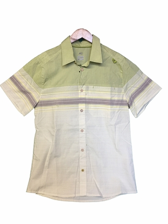Millet Mens Tamel Short Sleeve Shirt Linden Green