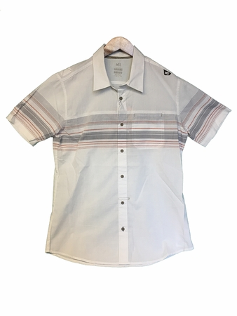 Millet Mens Tamel Short Sleeve Shirt Silver