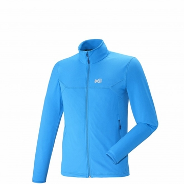 Millet Mens Tech Stretch Light Jacket Electric Blue