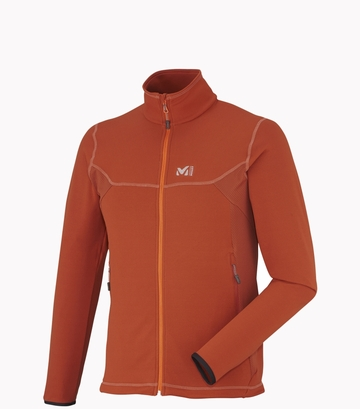 Millet Mens Tech Stretch Light Jacket Rust