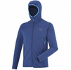 Millet Mens Technostretch Hoodie Estate Blue