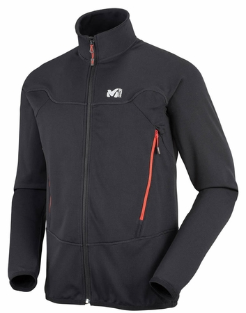 Millet Mens Technostretch Jacket Black/ Noir