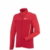 Millet Mens Technostretch Jacket Deep Red/ Rouge