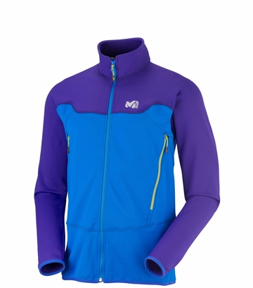Millet Mens Technostretch Jacket Sky Diver/ Ultra Blue