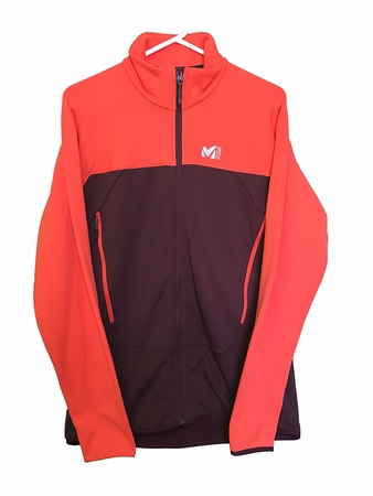 Millet Mens Technostretch Jacket Wine/ Flamme