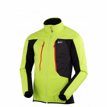 Millet Mens Touring Alpha Composite Jacket Acid Green/ Noir