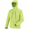 Millet Mens Touring Shield Hoodie Acid Green