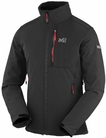 Millet Mens Track Jacket Black/ Noir
