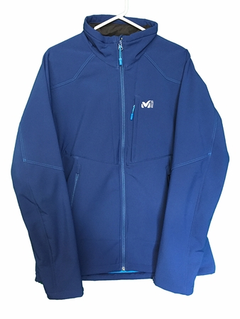 Millet Mens Track Jacket Estate Blue