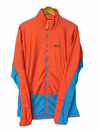 Millet Mens Trilogy Advance Jacket Light Sky/ Rouge (Close Out)