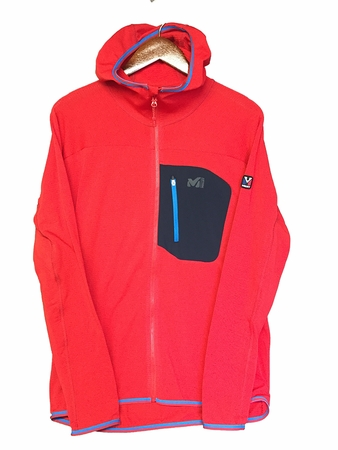 Millet Mens Trilogy Light Hoodie Red/ Rouge