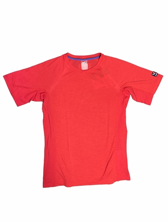 Millet Mens Trilogy Wool T Shirt Red/ Rouge