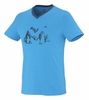 Millet Mens Yalla T Shirt Short Sleeve Electric Blue