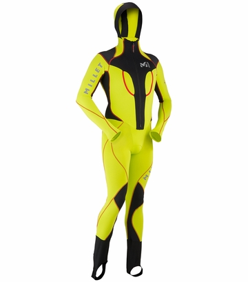 Millet Pierra Mens Suit Acid Green/ Noir