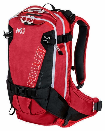 Millet Steep Pro 20 Pack Red/ Rouge