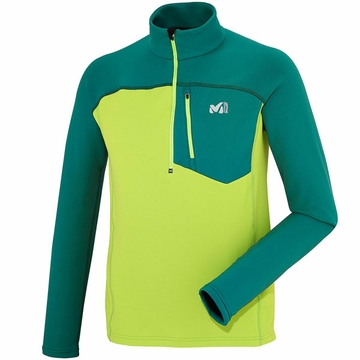 Millet Technostretch Zip Deep Acid Green/ Jasper