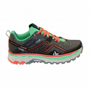 Millet Womens Alpine Rush Trail Shoe Dynasty Green/ Asphalte