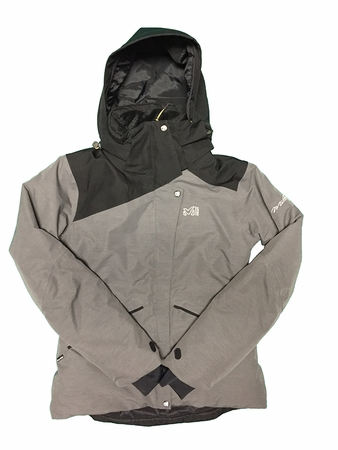 Millet Womens Aniakchak Jacket Noir/ Castelrock (Close Out)