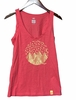 Millet Womens Camp Catta Tank Heather Hibiscus