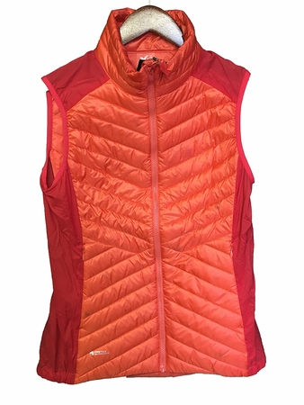 Millet Womens Dual Langtang Vest Hot Coral/ Hibiscus