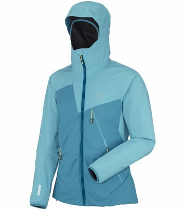 Millet Womens Elevation Windstopper Jacket Deep Horizon/ Horizon Blue