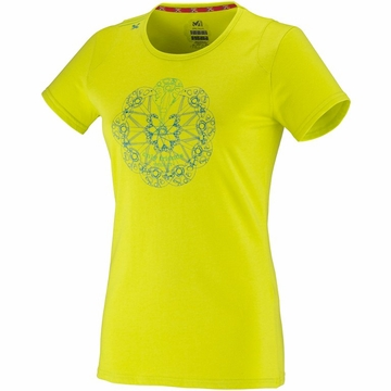 Millet Womens Friends T Shirt Sulphur