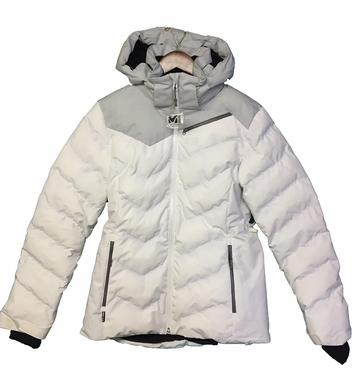 Millet Womens Heiden Jacket Cloud Dancer/ Heather White