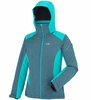 Millet Womens Hudson Bay Mountain Jacket Heather Blue/ Blue Bird (Close Out)