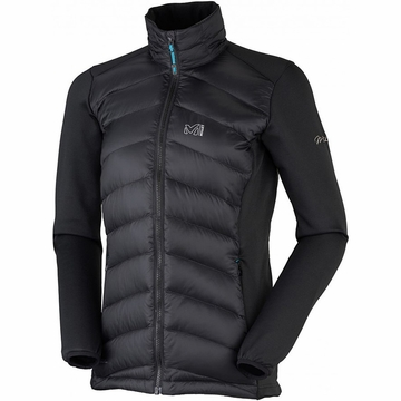 Millet Womens Hybrid Heel Lift Down Jacket Black/ Noir
